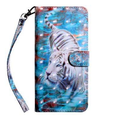 3D Color Painting Flip Wallet Phone Cover for Samsung Galaxy S7 Edge Case