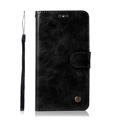 Premium PU Leather Flip Wallet Case for Lenovo K5 Note / A7020