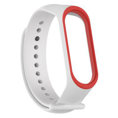 Silicone Two-color Replacement Wristband for Xiaomi Mi Band 3