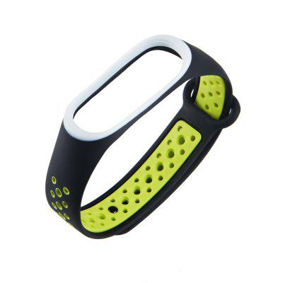 TPU Watch Band Wristband Sports Bracelet for Xiaomi Mi Band 3 / 4