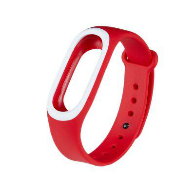 Silicone Two-color Replacement Wristband for Xiaomi Hey+