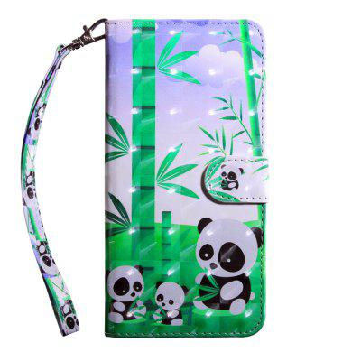 3D Color Painting Flip Wallet Cover for Samsung Galaxy A5 2018 / A8 2018 Case