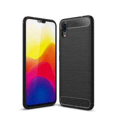 Carbon Fiber Phone Case for Vivo X21 Screen Fingerprint Version