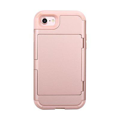 Anti-Falling Cosmetic Mirror Mobile Phone Case Fashion Flip Card for Iphone 6S