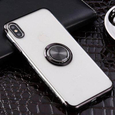 Silicone Transparent Cover 360 Degree Ring Shockproof Case For iPhone XS Max