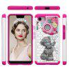 Voor Google Pixel 3 XL Painting + Drilling Two-in-One Protection Set - MULTI-J