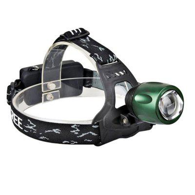 T6 10W 1000LM High Quality Headlight Rechargeable Zoom Head Lamp