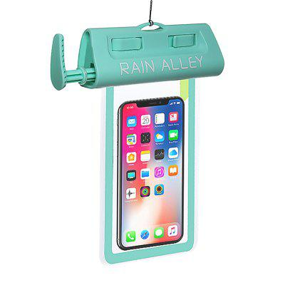 RAIN ALLEY IPX8 Universal Vacuum Waterproof Phone Pouch Dry Bag Case up to 6.5