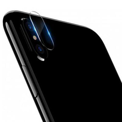 5D After Camera Lens gehärtetes Glas Displayschutzfolie für iPhone XS / XS max