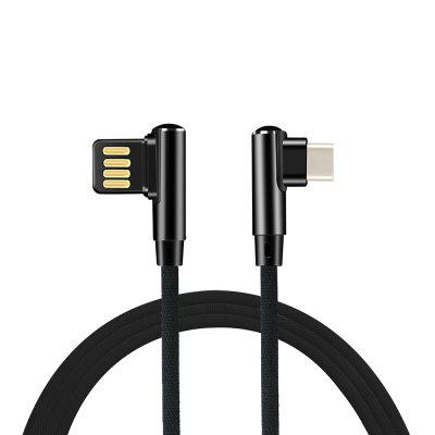 Minismile 4A L-type Fast Charging USB 3.1 Type-C Data Sync Charging Gaming Cable