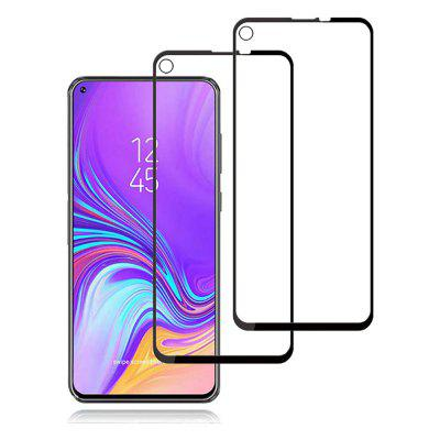 2PCS Tempered Glass Screen Protector for Samsung Galaxy A8s