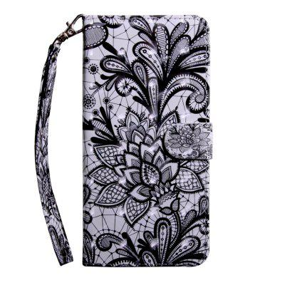3D Color Painting Flip Wallet Cover for Samsung J7 Pro / J730 / J7 2017 EU Case