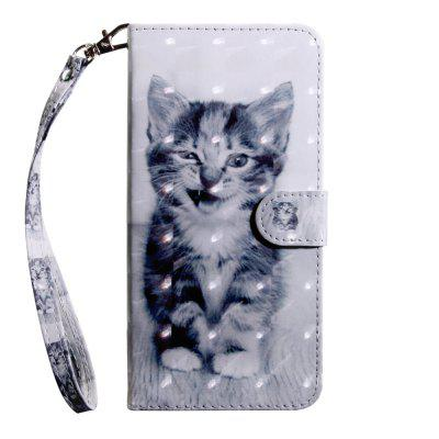 3D Color Painting Flip Wallet Phone Cover for Sony Xperia L1 / E6 Case
