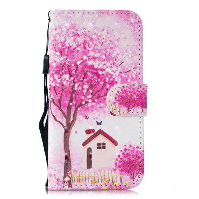 for MOTO G6 2018  PU Wallet Protective Case 3D Painted Leather Case