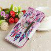 Flip Case for Huawei P Smart Full Painted Leather Wallet Magnetic Phone Cover - MULTI-E