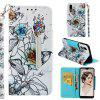 Magnetic Flip Case for Huawei P20 Full Painted Leather Stand Wallet Phone Cover - MULTI-C