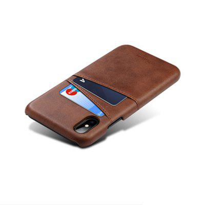 True Leather Business of The Protective Case of The Socket for iPhone Xsmax