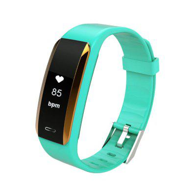 HD Heart Rate Bluetooth Sphygmomanometer Step Monitoring Sports Smart Bracelet