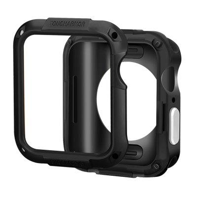For Apple Watch Cover 40mm 44mm 2 in 1 cover for iWatch 4 3 2 1 38mm 42mm