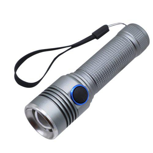SuperBright LED Telescopic zoom torch Tactical Flashlight Lamp USB charge Y