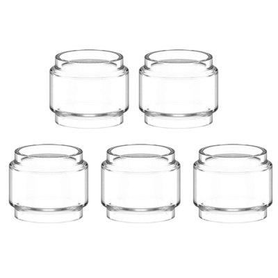 5PCS CLRANE Bulb Glass Tube for Smok FV12 Prince/for VandyVape Mesh 24 RTA