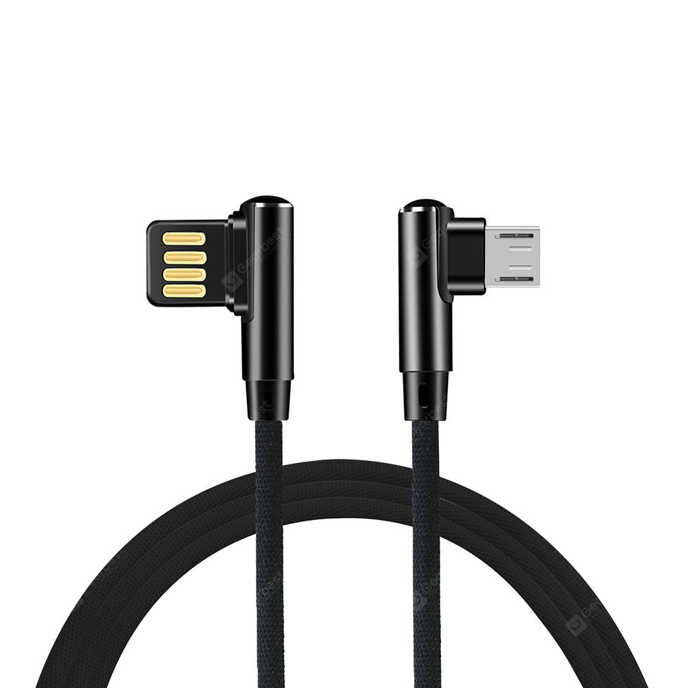 Minismile 4A L-type Fast Charging Micro USB Data Sync Charging Gaming Cable
