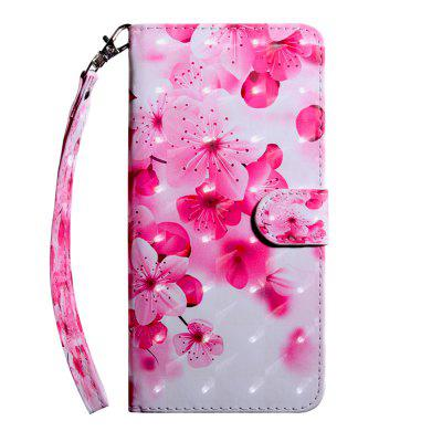 3D Color Painting Flip Wallet Phone Cover for LG X Power 2 Case