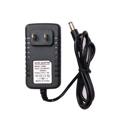 BRELONG 3A Power Adapter Transformator DC 12V US Schwarz