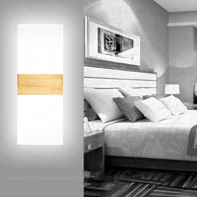 BRELONG LED Acrylic Wall Lamp Right Angle 6W Brushed Gold