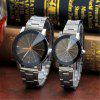 V5 Fashion Personality Meteor Shower Dial Quartz Lovers Watch - MULTI-A