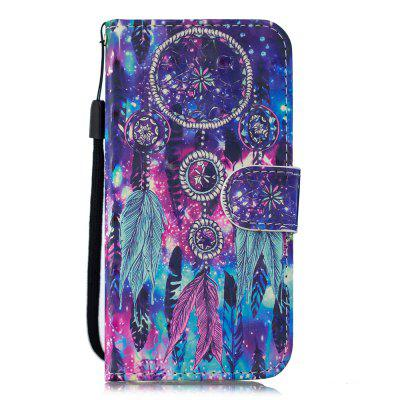 for NOKIA 6.1 PU Wallet Protective Case 3D Painted Leather Case