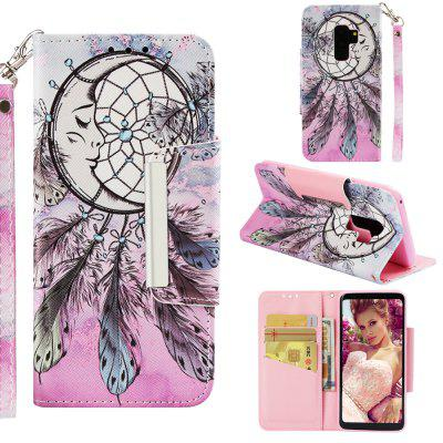 Leather Case For Samsung Galaxy S9 Plus Card Holder Stand Magnetic Wallet Cover