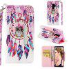 Leather Case For Samsung Galaxy S9 Plus Card Holder Stand Magnetic Wallet Cover - MULTI-E
