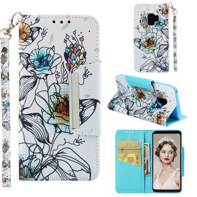 Flip Magnetic Case Cauza pentru Samsung Galaxy S9 Card Holder Folio Portofel Cover
