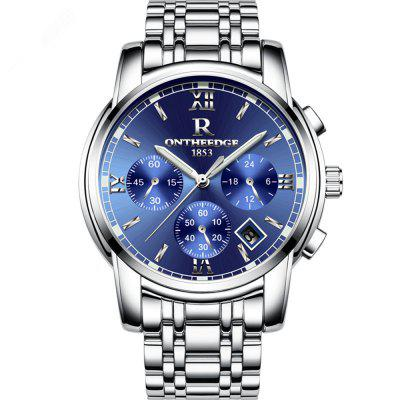 Business Luminous Wristwatch Waterproof Stainless Steel Quartz Watch for Men