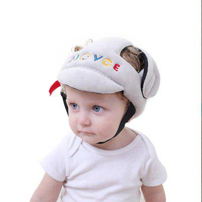 Baby Head Protector Letter Pattern Baby Safety Hat