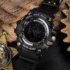 SANDA 30M Waterproof Electronic Watch for Men Sports Watch - BLACK