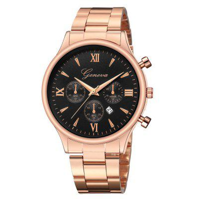 Top Marka Luxury Quartz Watch Mężczyźni Data Sport Wrist Watch