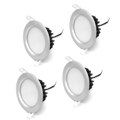 ZDM 4PCS 12W Waterproof 1000LM LED Downlight Ceiling Llight Semi Outdoor AC220V