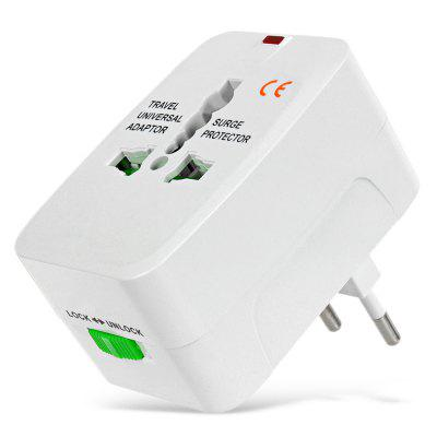 Universal Global Travel Power Plug Adapter with US / EU / UK / AU Standard