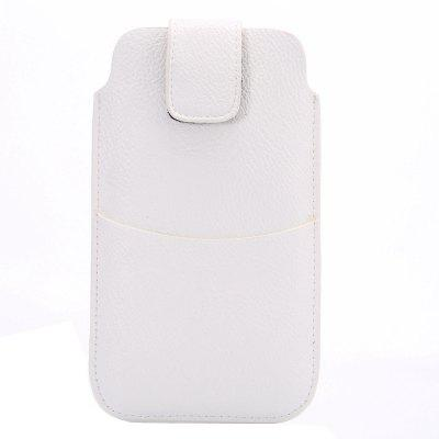 Litchi Waist Hanging Pocket with Ultra-Thin Pocket Card