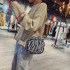 Fashion Leopard Print Small Square Bag Single Shoulder Bag for Ladies - #005