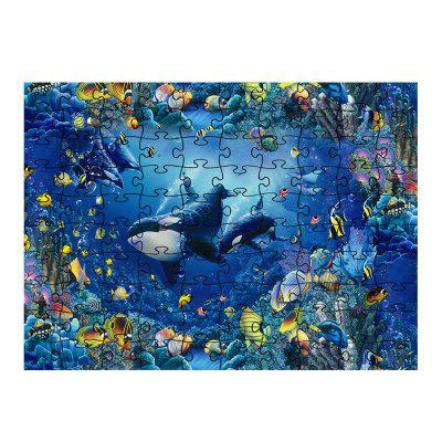 Bunte Seeweltpuzzle