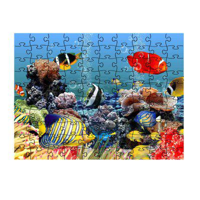 Sea World Puzzle Coloré