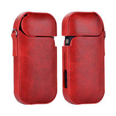 Cowhide Machine Set for Iqos Electronic Cigarette Case