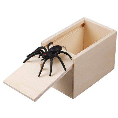 Blague Scarebox en Bois Blague Amare en Bois d'Amish
