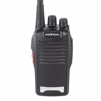 Baofeng BF-777S Two Way Radio Sets 16CH FM Radio Walkie Talkie UHF 400-470 MHz