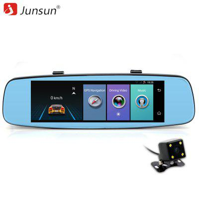 Junsun A880 4g ADAS Car DVR Camera Video Recorder Android 5.1 with two cameras