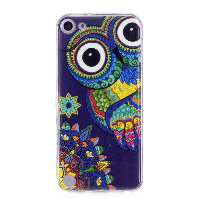 Blue Owl Luminous Phone Case for iPod Touch 5/6
