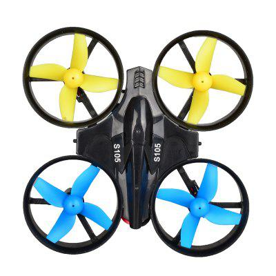 105D Mini Drone 2.4G 4CH 6-AXIS RC Drone Helicopter Quadcopter Children Toys One